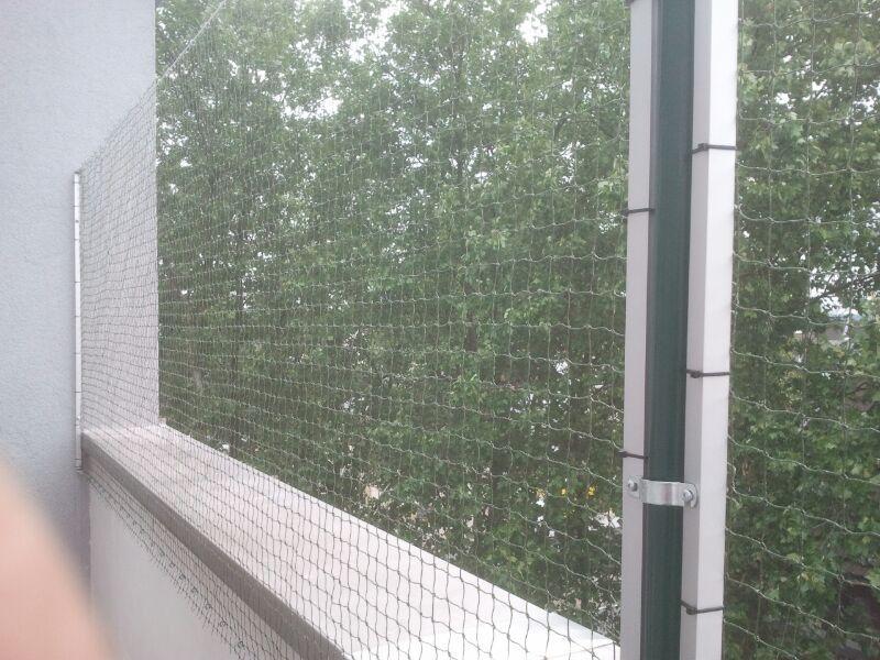 Mobiles Katzennetz Balkon