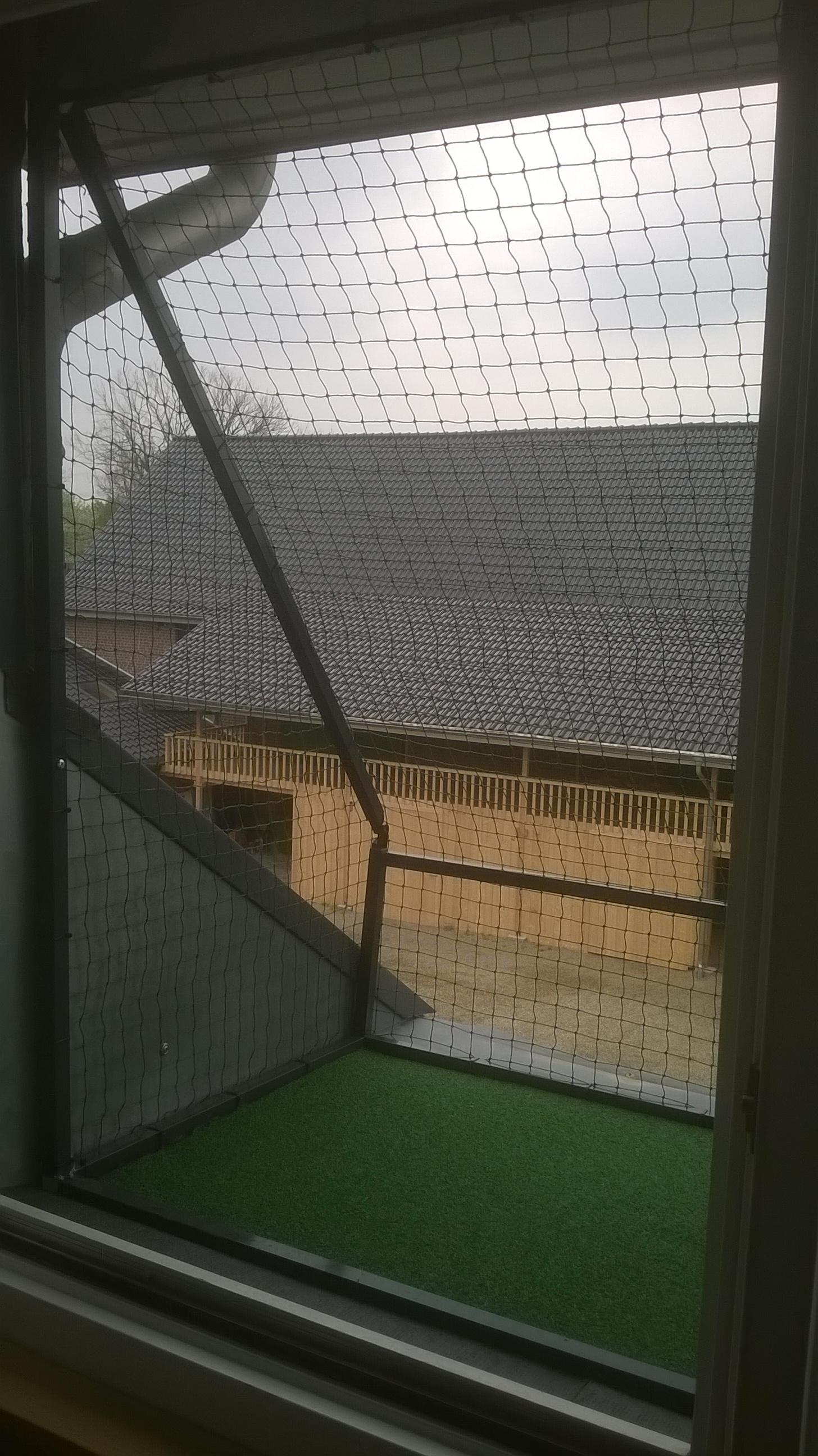 Fenstersims-katzensicher