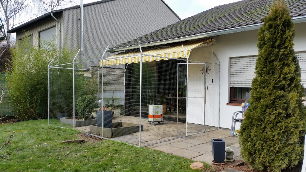 Katzennetz Terrasse ohne bohren