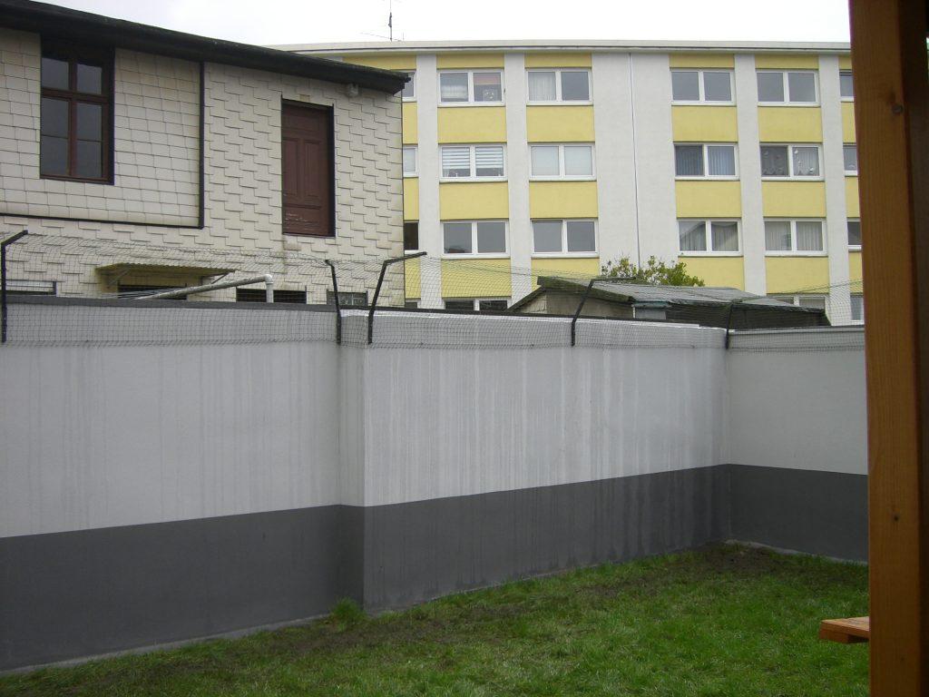 gartenmauer_katzensicher ohne bohren