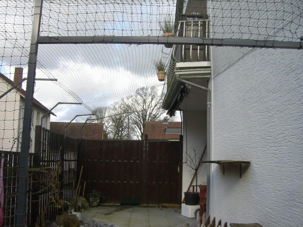 Katzennetz auf Terrasse für Benglen
