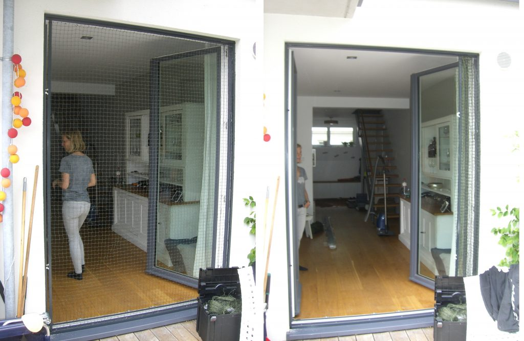 Katzennetz Balkontür ohne bohren schiebend