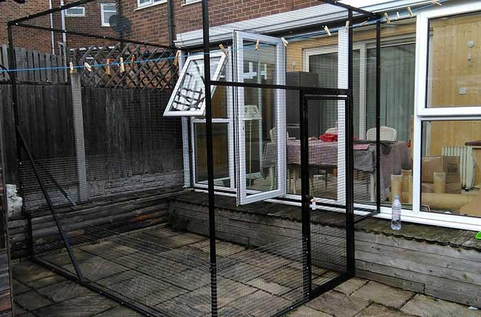 ProtectaPet-kleine Terrassensicherung