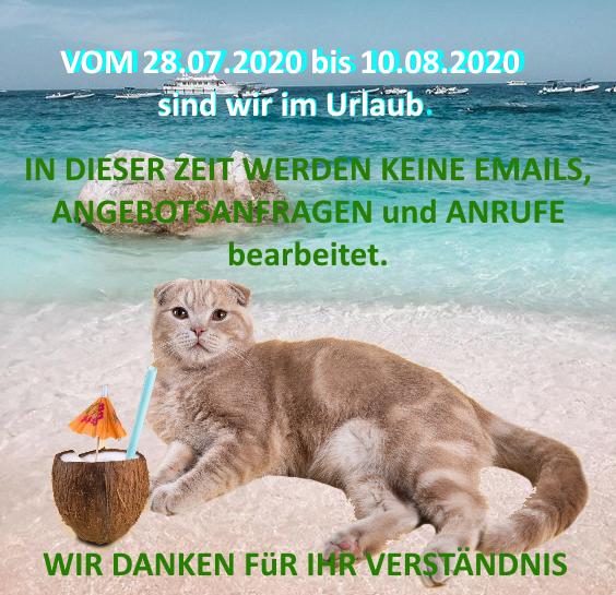 URLAUB 2020