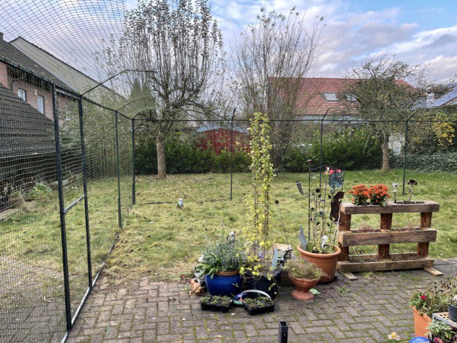 Gartensicherung mit doppelten Überkletterschutz
